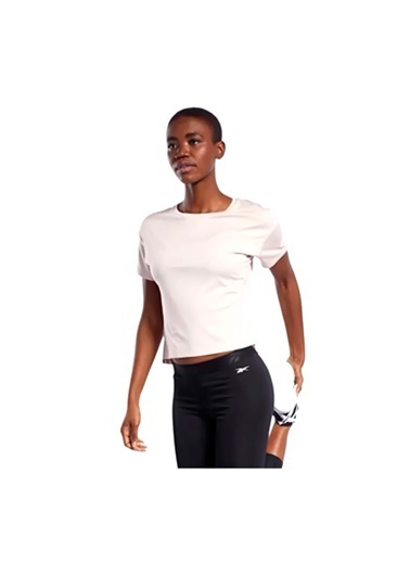 Reebok Kadın Renkli Wor Comm Poly Tee Solid Tişört FQ0402 Renkli